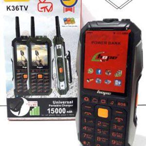 گوشی موبایل دکمه ای هوپ ضدضربه hope k36 tv اورجینال