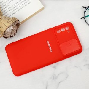 قاب سیلیکونی TPU محافظ لنزدار کشویی Samsung A02s لایت